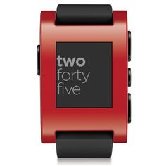 Pebble #smartwatch Finally something with a battery that lasts over a week! #trend #mobile #fitness