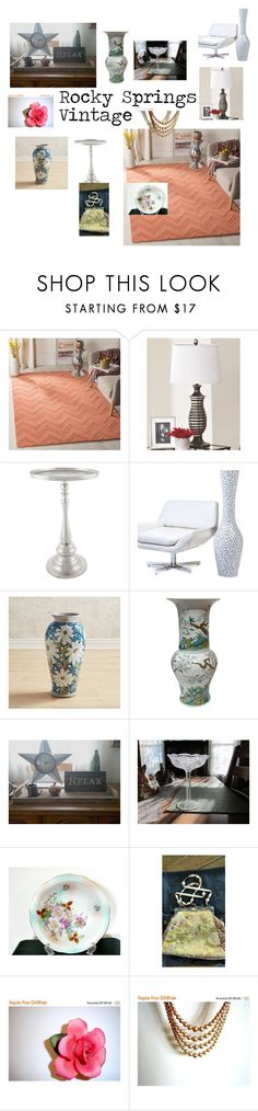 """""""My Life Is A Very Fine Life"""" by rocky-springs-vintage on Polyvore featuring interior, interiors, interior design, home, home decor, interior decorating, Safavieh, Signature Design by Ashley, Pier 1 Imports and Bungalow 5"""