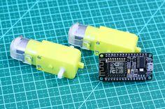 Como controlar motor dc com ESP8266 NodeMCU