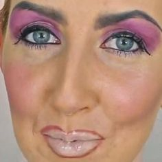 Bad makeup is the WORST! This video tutorial shows you all the things NOT to do when applying makeup.