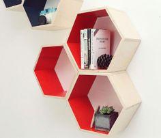 Honeycomb Shelves Set Uncovet
