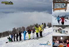 Carezza (Karersee) - Prachtig skigebied onder het Rosengarten massief. Heerlijke blauwe pistes om de Dolomiti Super Skisafari 2014 mee te starten.