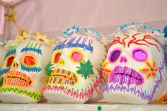 Sugar Skulls - Mexico prepares for Day of the Dead. (photo Amanda Young)