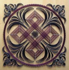 28 DIY Thread and Nails String Art Projects That Will Beauti.- 28 DIY Thread and Nails String Art Projects That Will Beautifully Reshape Your Interior Decor 28 DIY Thread and Nails String Art Projects That Will Beautifully Reshape Your Interior Decor - Nail String Art, String Crafts, Arte Linear, Diy And Crafts, Arts And Crafts, String Art Patterns, Doily Patterns, Dress Patterns, Paper Embroidery