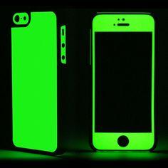iPhone 5S Case Glow Series Green
