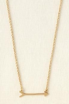 On the Mark necklace, Stella & Dot. $49