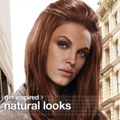 Light Copper Red Hair Color Sample | Anyway, I was looking on the Redken site trying to find their color ...