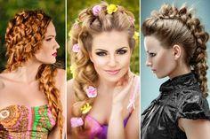 Schöne Flechtfrisuren: Bilder mit Flechtfrisuren für langes und mittellanges Haar, geflochtene Zöpfe, geflochtene Haare und Frisuren, geflochtene Hochsteckfrisuren ...