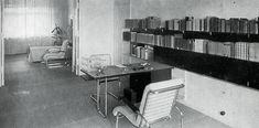 Marcel Breuer, 1929 - The De Francesco Apartment, Berlin, Germany.