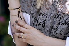 West London style with Marie of @blamefashion | Monica Vinader #MonicaVinader