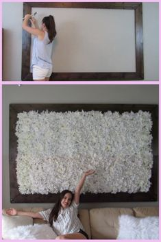I wanted to make this huge DIY Flower wall for over a year, and finally I bought the faux flowers and everything else and got to work! This is one of my most proud DIY and how to moments. My home decor masterpiece, so to speak.