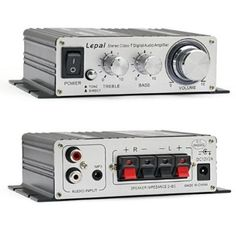 Lepai TA2020+ Tripath Class-T Hi-Fi Audio Mini Amplifier with Power Supply:Amazon.co.uk:Electronics