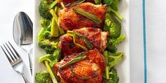 Mahogany Chicken and Broccoli - GoodHousekeeping.com