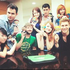 Leaky Con - Lizzie Bennet Diaries cast