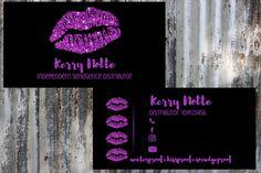 Bright Purple Lips on Black Background LipSense Business Purple Lips, Bright Purple, Etsy Business Cards, Lipsense Business Cards, Marketing Materials, Black Backgrounds, Lip Sense, Templates, Logo Ideas