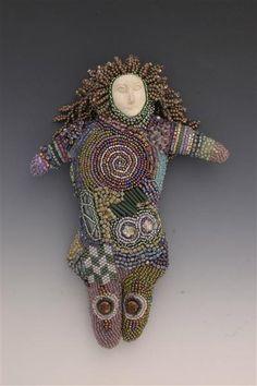 Beaded Art Dolls - Turtle Dreams - Beaded Jewelry and Art Dolls