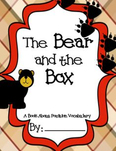 Position / Direction Vocabulary Words: Class Books from MadForKinder on TeachersNotebook.com -  (20 pages)  - Position / Direction Vocabulary Words: Class Books