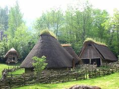 Haltstatt/Celtic habitation reconstructed