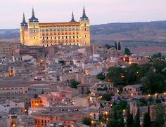 Terrific view of Toledo, Spain, from the Parador de Toledo; photo by Jackie Finch.