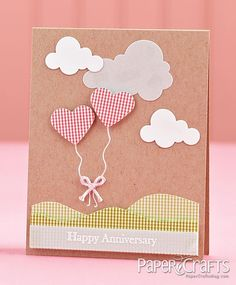 Moxie Fab World: Card Creations Week: The Gingham Challenge