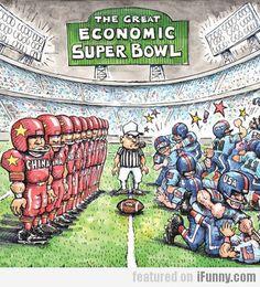 The Great Economic Super Bowl
