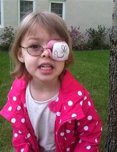 Meet Mensa's newest addition. She's 2 and has amblyopia. Her glasses were the key to unlocking her huge potential!