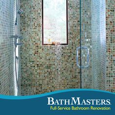 Your shower renovation should be as luxurious as your dreams. Make it a reality at BathMasters.
