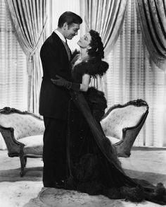 "Clark Gable and Vivien Leigh ""Gone with the Wind"""