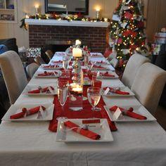 Ideas Para Decorar Tu Mesa En Navidad Navidad Pinterest - Decoracion-para-mesa-navidea