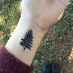 my small pine tree tattoo                                                                                                                                                      More