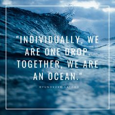 "Discover Sedna; super soft carpet saving sea life! ""Individually, we are one drop. Together, we are an ocean."" - Ryunosuke Satoro #sednacarpet #quote #inspirationalquote #ocean #sealife #sustainablehome #carpet #livingroom #bedroom #motivationalquote #quotes #motivationalposter"