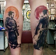 Samurai Tattoo Sleeve, Samurai Warrior Tattoo, Warrior Tattoos, Japanese Warrior Tattoo, Japanese Sleeve Tattoos, Buddha Tattoos, Body Art Tattoos, Ronin Tattoo, Tattoo Geek