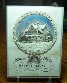 QFTD139 Christmas Lodge by jandjccc - Cards and Paper Crafts at Splitcoaststampers