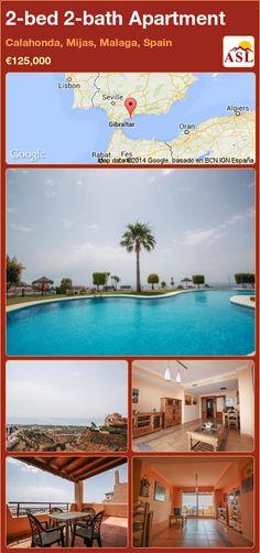2-bed 2-bath Apartment in Calahonda, Mijas, Malaga, Spain ►€125,000 #PropertyForSaleInSpain