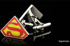 The Man of Steel - Awesome Cufflinks.    http://superheroescufflinks.com/superman-cufflinks/
