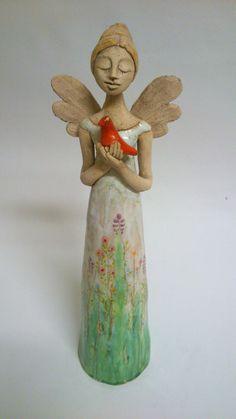 Andělka a holubicí