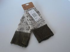 Threads 4 Thought women fingerless gloves one size  $18.00 value brown #rampage #EverydayGloves