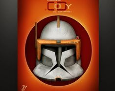 """Star Wars Inspired """"Clone Trooper Composite"""" Art Print by Herofied Jango Fett Commander Cody Gree Bly Captain Rex Boba Fett My Canvas, Canvas Prints, Surprise For Him, Galactic Republic, Thing 1, Clone Trooper, Clone Wars, That Way, New Art"""