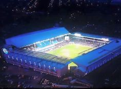 Goodison - All lit up