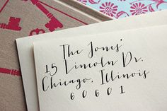 Custom Address Stamp - Self Inking Address Stamp - Calligraphy - Wedding Gift - Housewarming Gift
