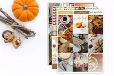 5 Gorgeous Fall Sticker Kits You Need for Your Planner 2018 Cute Planner, Planner Supplies, Strong Love, Love Stickers, Erin Condren, Washi, Pens, Shops, Printables