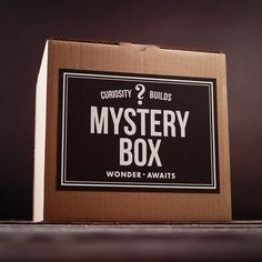 Mystery Boxes at Firebox.com- You pick a theme and then they ship you a box of stuff!! Would be so fun for presents!