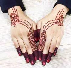 Simple Mehndi Designs Fingers, Latest Finger Mehndi Designs, Mehndi Designs For Kids, Mehndi Designs Feet, Back Hand Mehndi Designs, Mehndi Designs For Beginners, Unique Mehndi Designs, Latest Mehndi Designs, Mehandi Designs