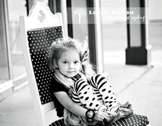 3 year old on chair or bench