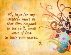 """""""My hope for my children must be that…"""" — Christian Stay at Home Moms"""