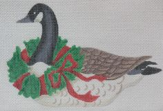 Kate Dickerson Canada goose ornament
