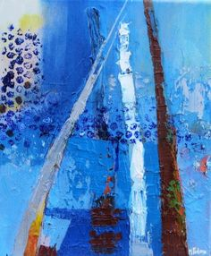 Buy The Blue House In The South, Oil painting by Martina Furlong on Artfinder. Discover thousands of other original paintings, prints, sculptures and photography from independent artists. Paintings For Sale, Original Paintings, Irish Art, Beautiful Artwork, New Art, Sculptures, Display, Watercolor, Abstract