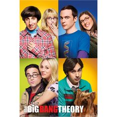 The Big Bang Theory - Blocks - Official Poster Big Bang Theory, The Big Theory, Big Ben Tattoo, Leonard Hofstadter, Amy Farrah Fowler, Johnny Galecki, Melissa Rauch, Jim Parsons, Big Ben London