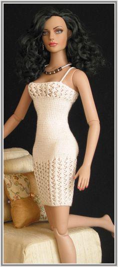 Fashion Doll | knitwear jewelery for fashion dolls strick schmuck fuer fashion dolls