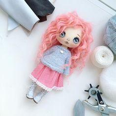 Добрый вечер  куколка еще в процессе, скоро покажемся:) #куколкаищетдом #кукла #куколка #куклаолли резерв    #Regram via @kukla_olly